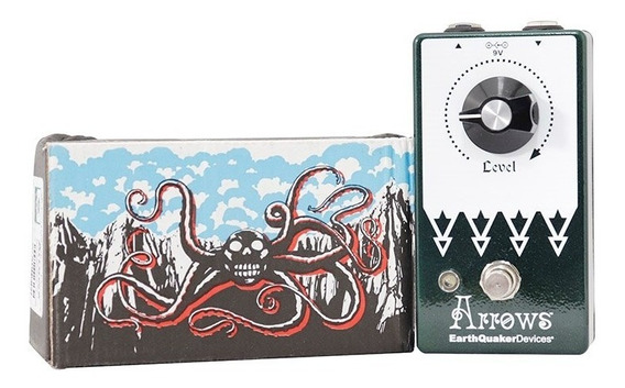 Pedal Arrows Pre Amplificador Booster Earthquaker Devices Vd