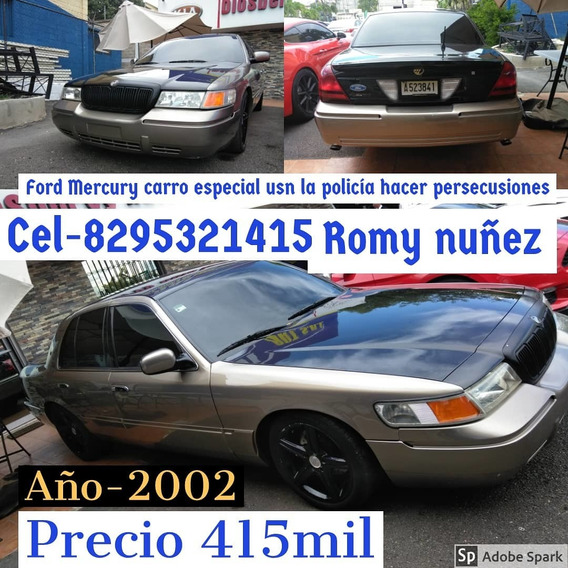 Ford Ford-mercury-2002 Americano -v8 De Fbi