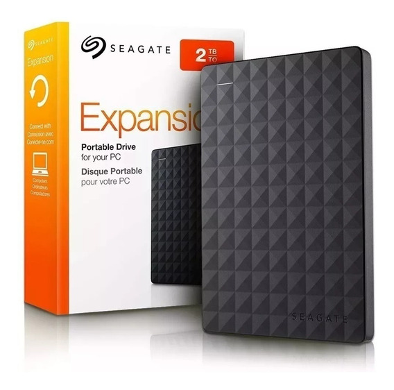 Hd Externo Seagate 2tb Usb 3.0 Portátil Pc Ps4 Xbox One