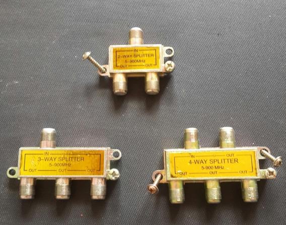 Conectores Way Splitter 2-3-4