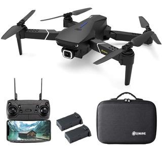 Drone Gps Cámara 4k Eachine E520s 5g Wifi 2 Baterias Estuche