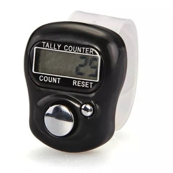 Contador Digital Anel Z22 Finger Counter