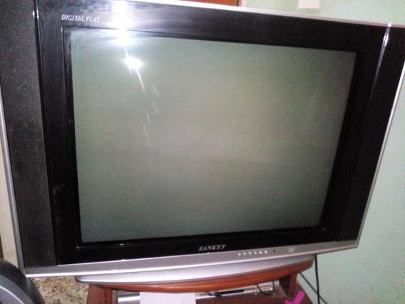 Televisor Sankey 29 Pulgada Con Detalles 20 Verdes