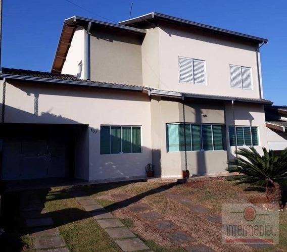 Casa Residencial À Venda, Portal Dos Pássaros Ii, Boituva - Ca0245. - Ca0245