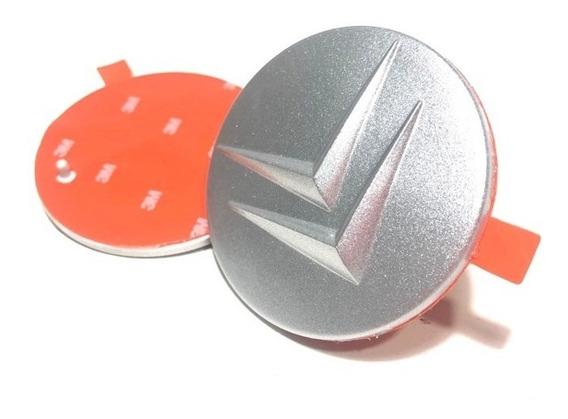 4 Calotinhas Adesivo Miolo Centro Roda Citroen C3 Picasso