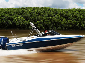 Lancha Quicksilver Marine Sur 2000. C/evinrude Etec 135