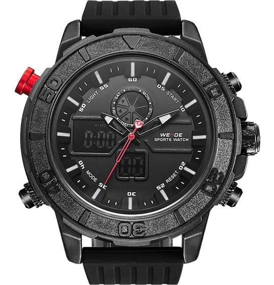 Relógio Masculino Weide Anadigi Preto 10340