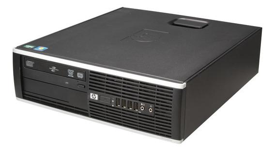 Pc Hp 8000 Intel Core 2 Duo 8gb Ssd 480 Windows 7 + Brinde