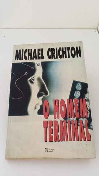 Livro O Homem Terminal - Michael Crichton