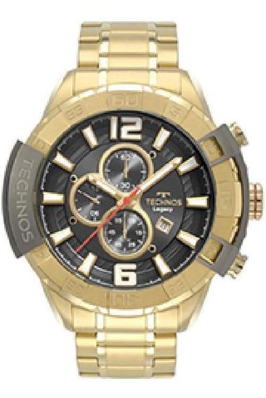 Relógio Technos Legacy Dourado Os10fe/4p