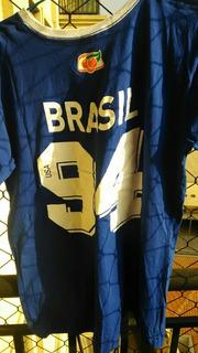 Camiseta Seleção 94 Guaraná Antárctica