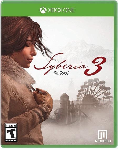 Syberia 3 Xbox One Midia Fisica
