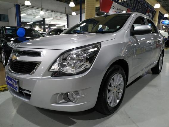 Chevrolet Cobalt Ltz 1.4 Completo Prata 2015