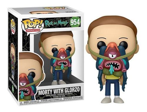 Imagen 1 de 1 de Morty With Glorzo Rick & Morty - Funko Pop Original