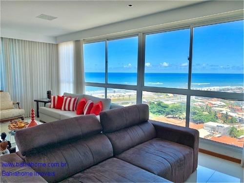 Com Um Conceito Moderno E Sofisticado Esse Apartamento Com Três Suítes E Varanda Gourmet Com Vista Mar A A Venda Em Patamares - Ap1050