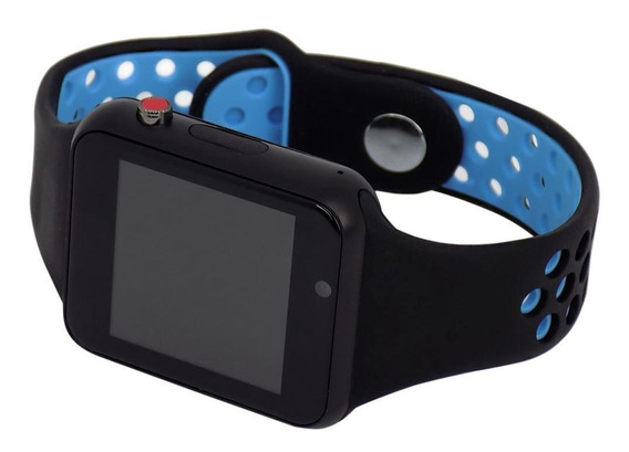 Relógio Smart Watch M3 Inteligente Usb Bluetooth Azul