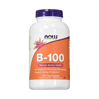 Ahora Vitamina B-100 Nervioso Suplemento Dietético Sistema D