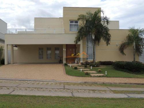 Casa Com 3 Dormitórios À Venda, 302 M² Por R$ 1.100.000,00 - Condominio Fazenda Palmeiras Imperiais - Salto/sp - Ca1026