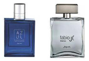 Combo Perfumes Jequiti Cauã Reymond Azul + Fábio Jr. Intenso