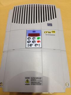 Controlador Inversor De Frequência Weg Cfw 08 33a 10cv Trifásico Cfw 08
