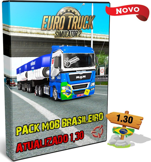 Euro Truck Simulator 2 Brasil 2018 Bitrem C/ 76 Reboques Br