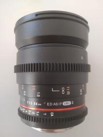 Lente Rokinon 24mm 1.5