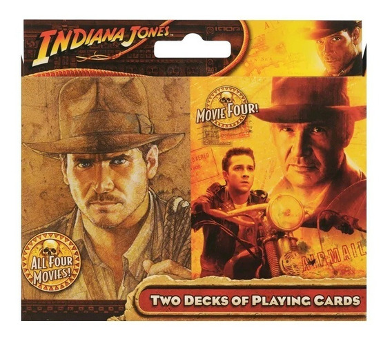 Baralho Indiana Jones - Deck Duplo - Cartamundi