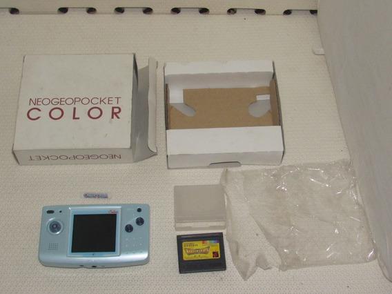 Console Neo Geo Pocket Color Caixa Jogo Leia Anuncio Video