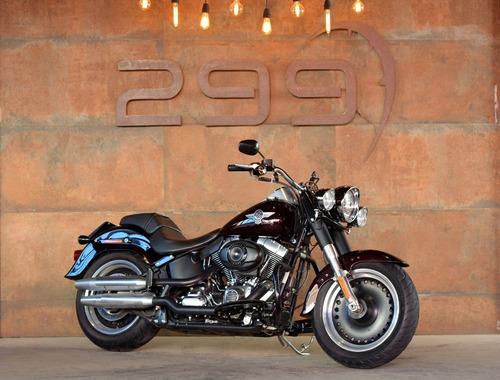 Imagem 1 de 8 de Harley Davidson Softail Fat Boy 2014