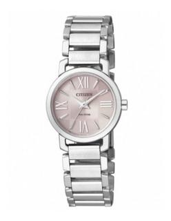 Reloj Dama Citizen Ep5880-58x Ecodrive Agente Oficial J