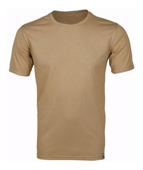 Camiseta Masculina Militar Coyote
