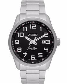 Relógio Orient Masculino Mbss1271 P2sx Prata Original