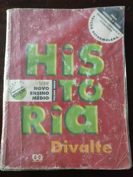 Livro História Divalte 2003 Com Questões Do Enem