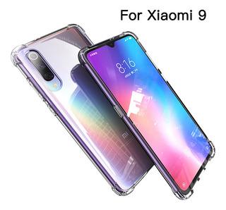 Carcasa A Prueba De Golpes Para Xiaomi 9, Transparente