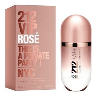 Perfume Importado Mujer Carolina Herrera 212 Vip Rose Edp X50ml