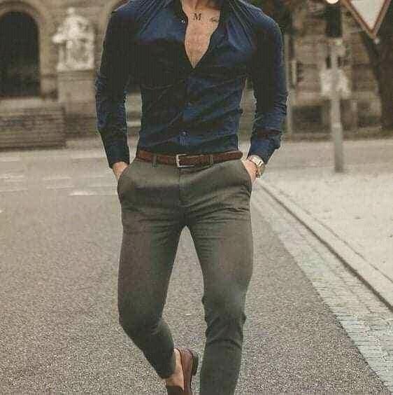 Pantalon Chupin Corte Chino