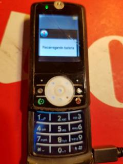 Celular Motorola Rizr Z3 P/ Peças C/carregador