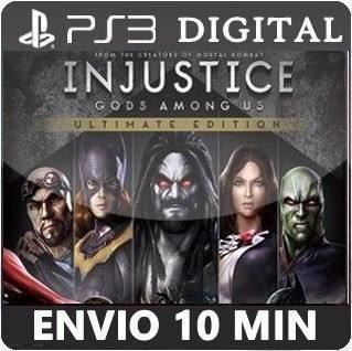 Injustice Gods Among Us Português Psn Ps3 Envio Imediato