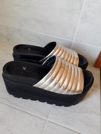 Zapatos Dorados Talle 37