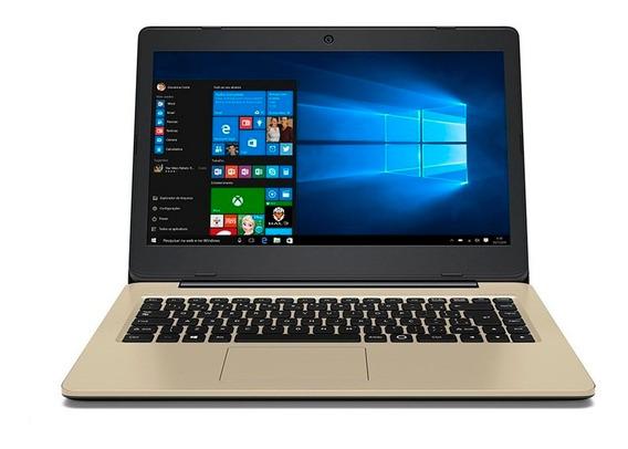 Notebook Positivo Stilo Colors Xc3552 Rmf Quad Core 2gb 32gb