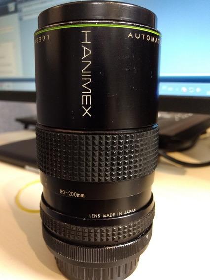 Lente Hanimex Mc 1:4.5 80-200mm Mount Pentax Pk