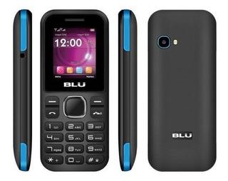 Celular Blu Z3 Music Dual Chip Preto/azul Novo
