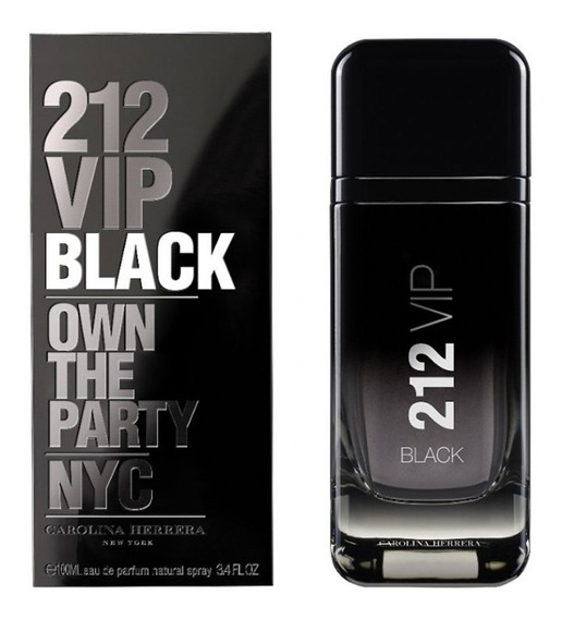 212 Vip Black Men 100 Ml Eau De Parfum Spray De Carolina Her