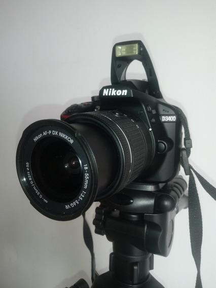 Máquina Fotográfica Nikon D3400