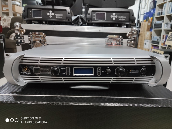 Amplificador Behringer Inuke 12000 Impecável
