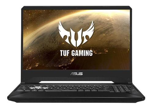 "Imagen 1 de 7 de Laptop Asus TUF FX505DT negra 15.6"", AMD Ryzen 5 3550H  8GB de RAM 256GB SSD, Nvidia GeForce GTX 1650 1920x1080px Windows 10 Home"