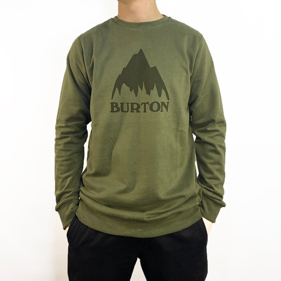 Buzo Burton Mtn Crew Pullover