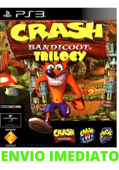 Crash Bandicoot Ps3 Midia Digital Envio Já