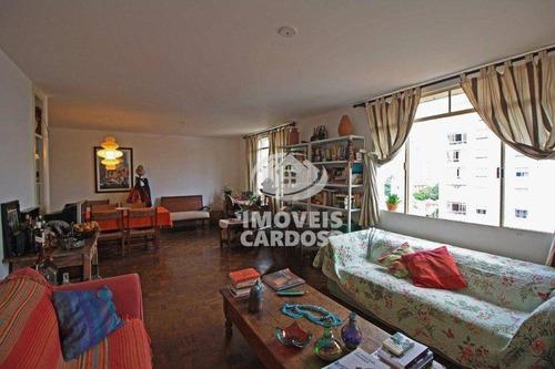 Apartamento Com 3 Dormitórios À Venda, 147 M² Por R$ 1.495.000 - Pinheiros - São Paulo/sp - Ap18876