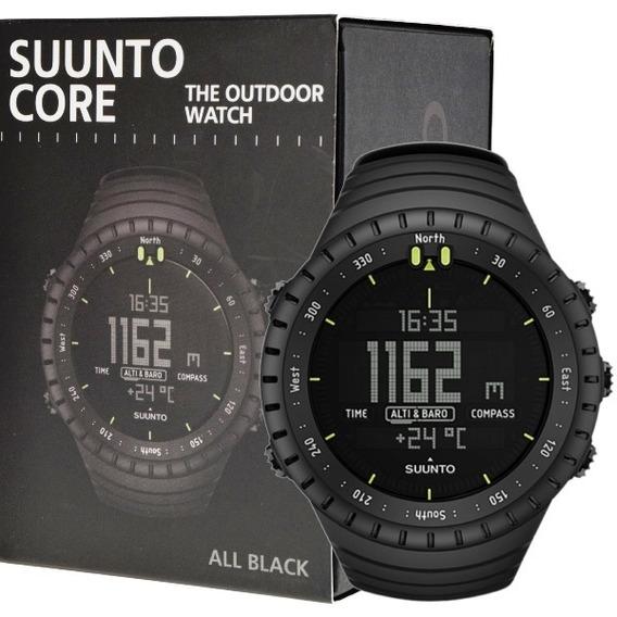 Suunto Core All Black Militar Relógio Esportivo Original